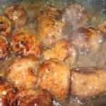 כדורי בשר ברוטב שום ודבש
