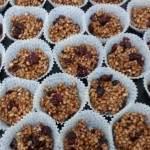 עוגיות פצפוצי אורז עם שוקולד ללא אפיה