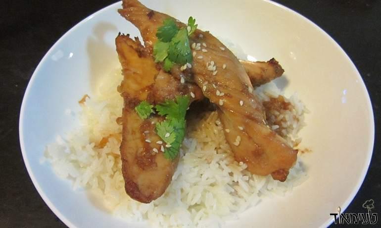 חזה עוף בתנור בסגנון אסייתי