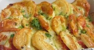 גרטן תפוחי אדמה, קישואים ועגבניות