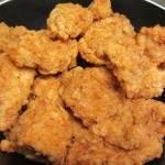 נגיסי חזה עוף בציפוי פריך בסגנון קנטאקי