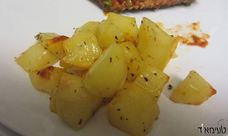 תפוחי אדמה איטלקיים בתנור