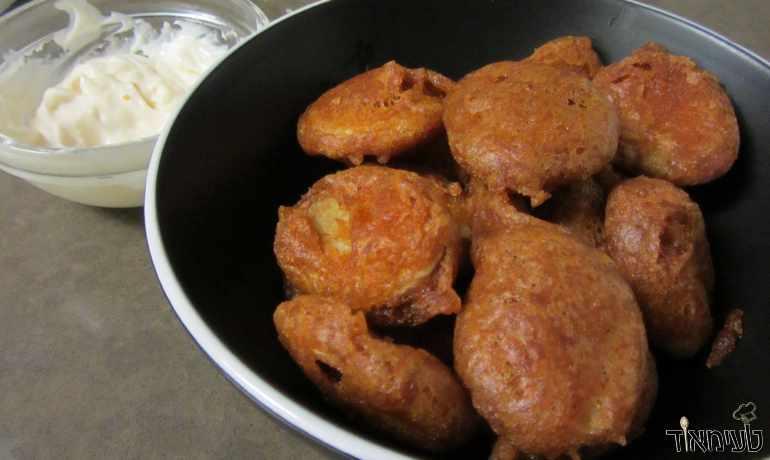 תפוחי אדמה בטמפורה