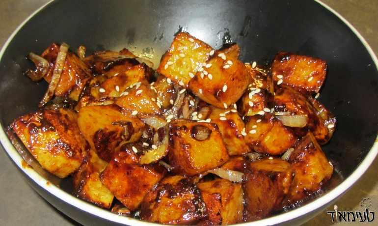 תפוחי אדמה בטריאקי