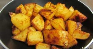 תפוחי אדמה חריפים בתנור
