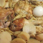 חמין עוף ומקרוני