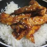 חזה עוף בתנור ברוטב חמוץ מתוק