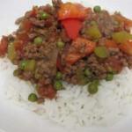 תבשיל בשר וירקות בסגנון אסייתי