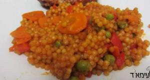 פתיתים אדומים עם ירקות