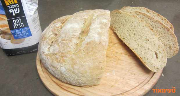כיכר לחם איטלקית מתערובת להכנת לחם של מאסטר שף