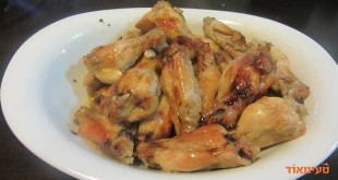 כנפיים במיץ תפוזים סחוט בתנור