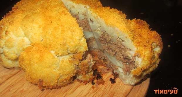 כרובית ממולאת בשר