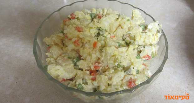 סלט תפוחי אדמה וביצים