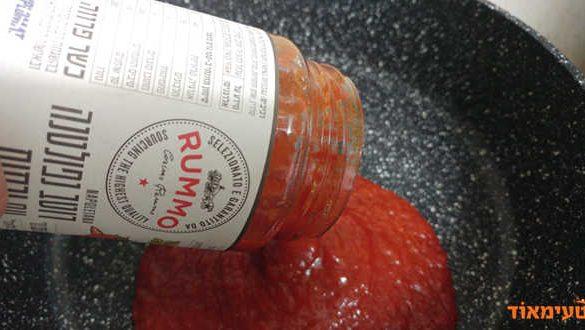 רוטב נפוליטנה עם ירקות של RUMMO